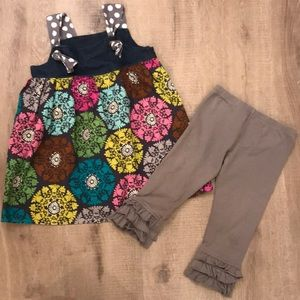 Size 4 Knot Dress and Persnickety Capri Pants